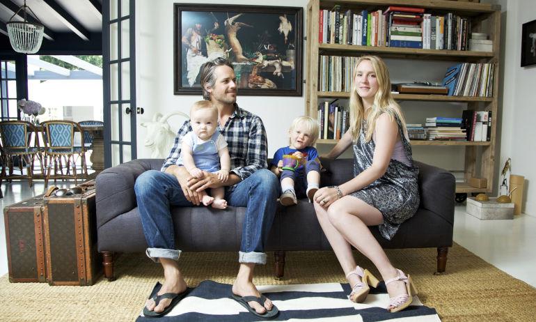 Lily Johnson White et Sandy,<br> Wolfie 2,5 ans et West 11 mois
