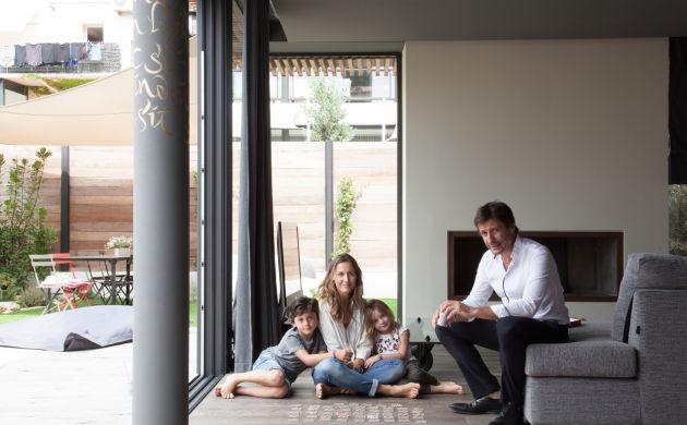 Victoire Antoun et Christophe Castellani, <br/>Oscar 7 ans et Violette 5 ans