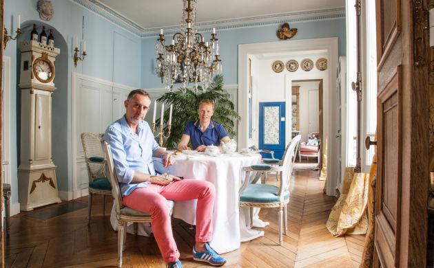 Salle à manger style Versailles Chaise Cannage Laurent Billiet