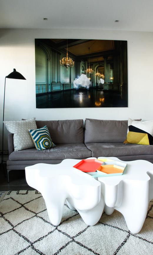 Salon Appartement Pierre Emmaniel Risch et Carole Marchal Paris