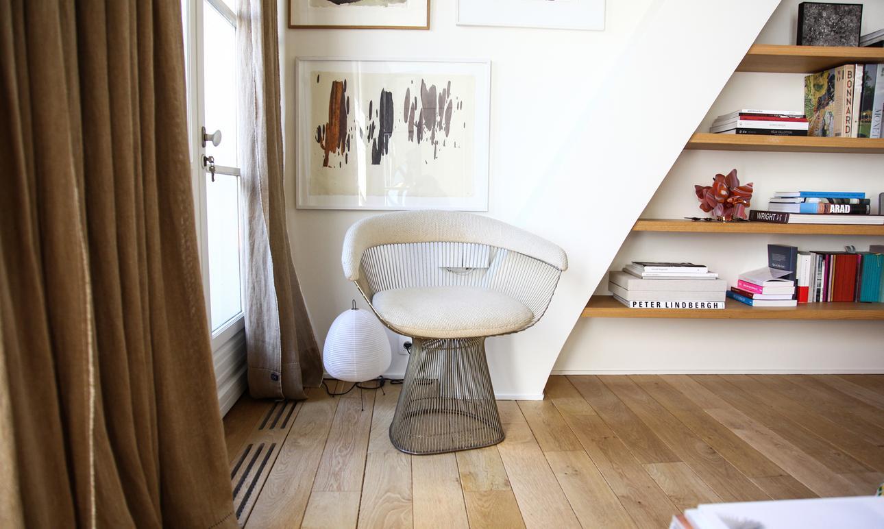 Warren Platner Création Assise Fauteuil Chambre Appartement Paris Marie Gas