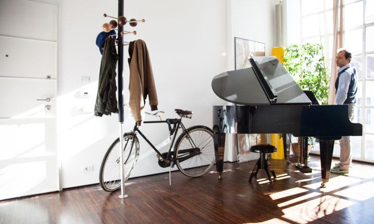 Salon Architecte Designer Tommaso Fantoni Appartement Milan