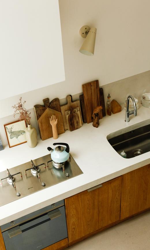 Cuisine Planches à découper en bois Maison Nantes Annabel Guéret