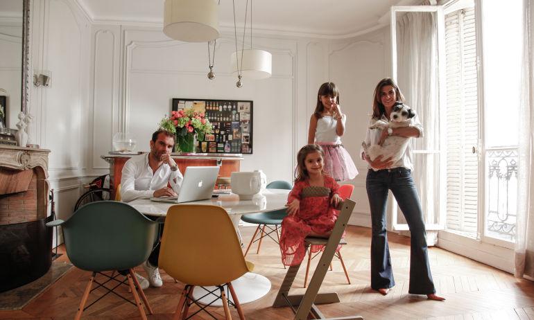 Tracy Francelet et Jean-Philippe Bouchard, Léonie 7 ans et Aimée 4 ans