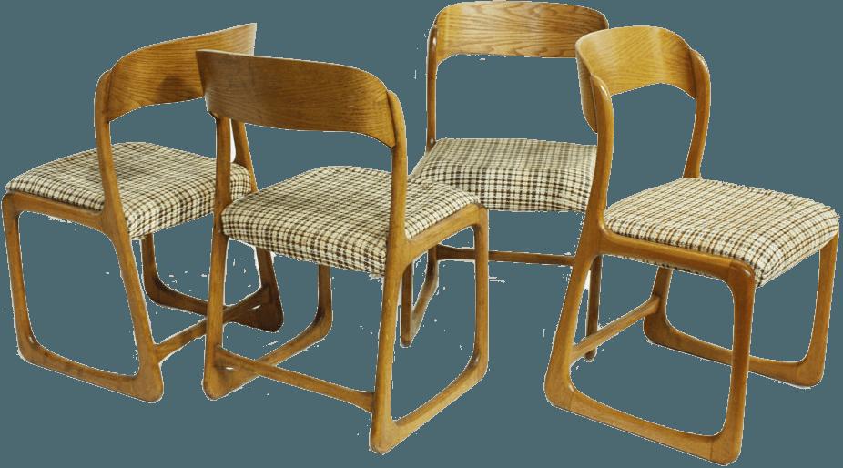 chaise baumann traineau the socialite family. Black Bedroom Furniture Sets. Home Design Ideas