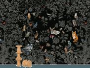 Papier peint forêt noire