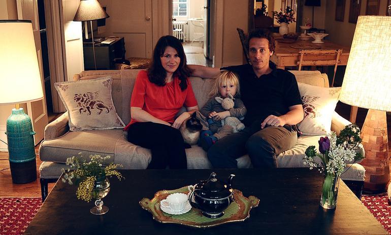 Elisa Lempicka and Gaspard de Dreuzy, <br/>Honoré 2 years old