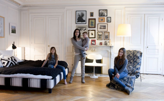 Mariu Roversi, Chiara 14 ans, <br/>Inès et Joseph 3 ans et demi