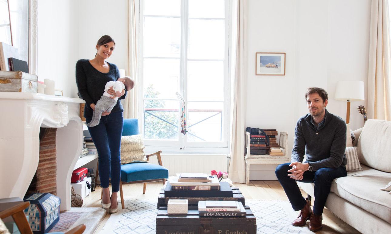 Morgane Sézalory et Thibault, <br/>Nina 4 mois