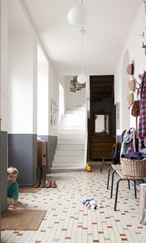 Aurélie Lecuyer et Jean Christophe,<br /> Gustave 6 ans et Honoré 3 ans