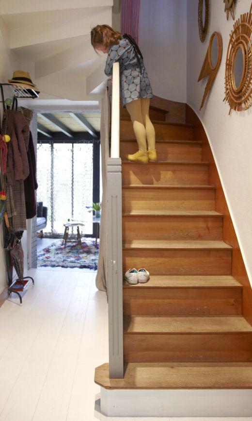 Escalier Entrée Maison Nantes Anne Millet
