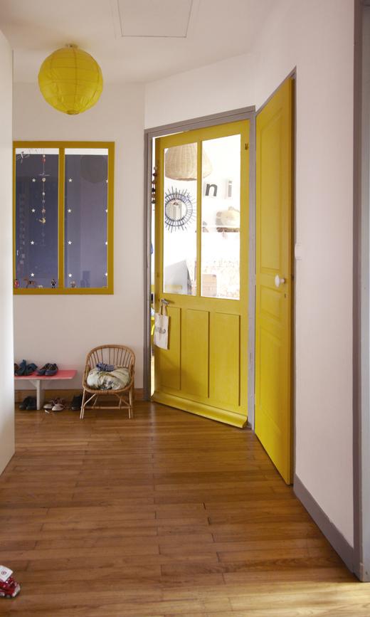 Couloir Entrée Maison Nantes Anne Millet