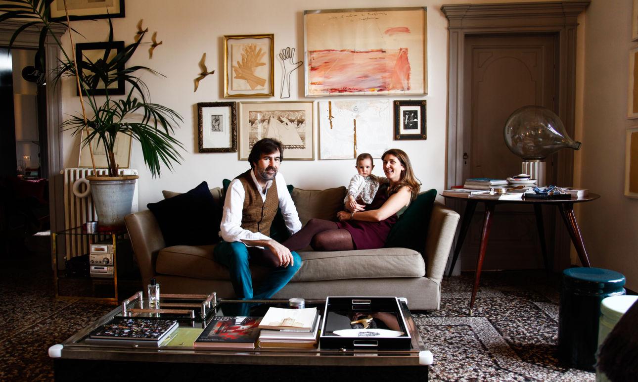 Giovanni Cagnato and Valentina, <br/> Giulia 9 months