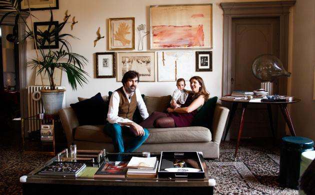 Giovanni Cagnato et Valentina, <br> Giulia 9 mois