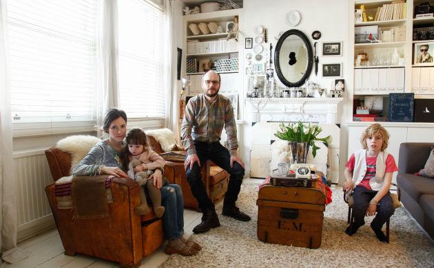 Emma Cassi et Bertrand Bosredon, <br/>Antonin 9 ans, Hope 4 ans