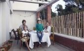 Kathleen Boonen<br> et Jan, Lila 8 ans<br> et Tom 5 ans