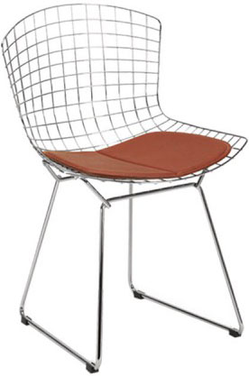 Harry bertoia chair the socialite family - Chaise bertoia occasion ...
