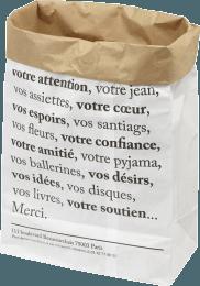 Grand sac en papier