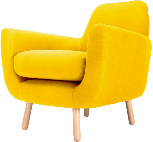 Jonah Yellow Armchair The Socialite Family