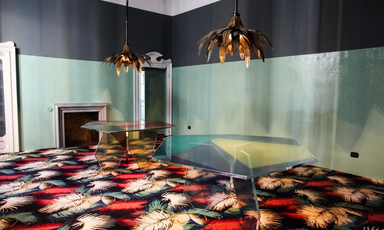 Moquette Jungle Dimore Gallery Milan