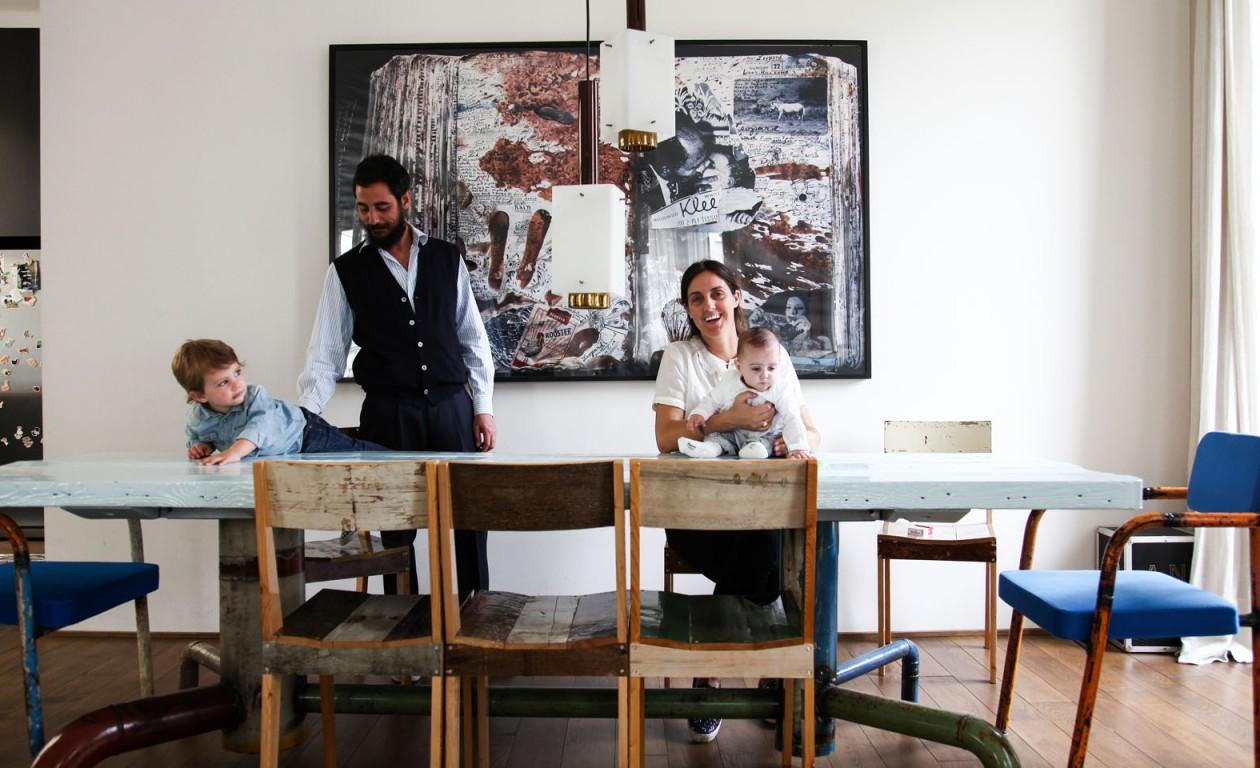 Andrea Brugnoni Isabella Spadacini, Bartolomeo 2 ans  et Libera 7 mois