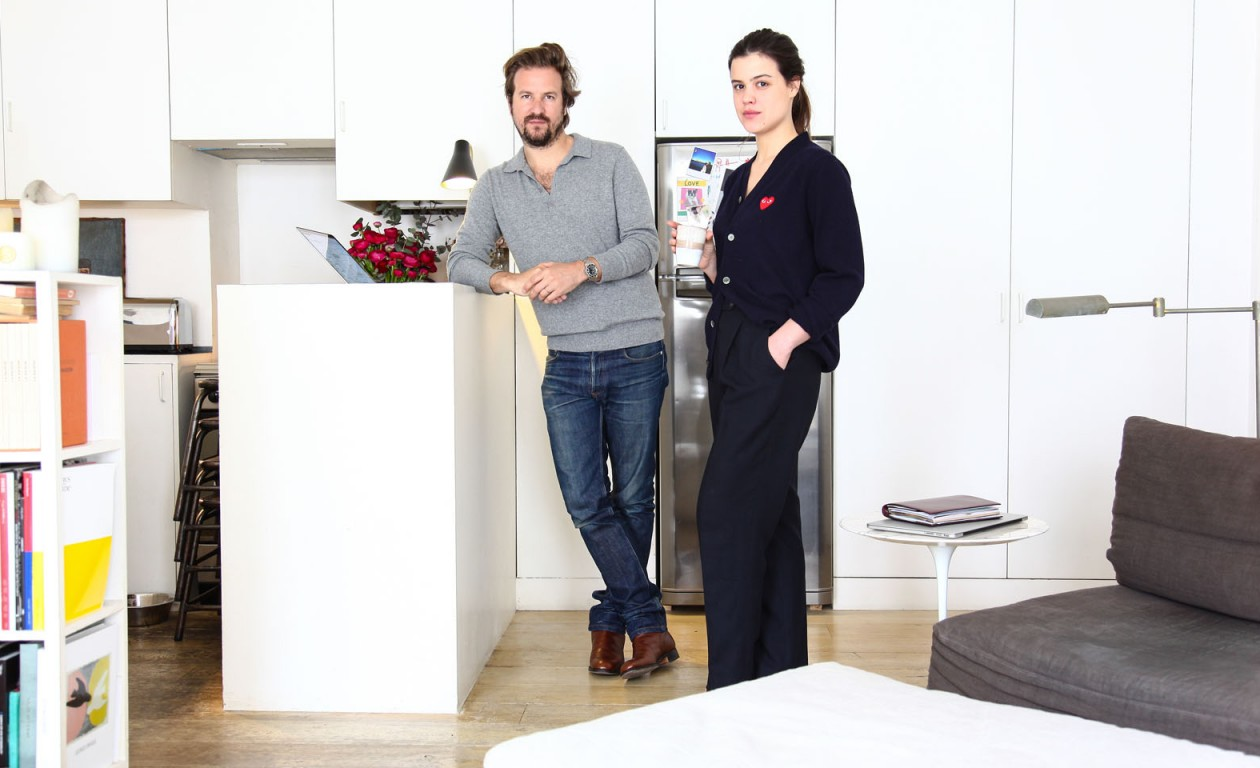 Lara Melchior et Vassili Verrecchia