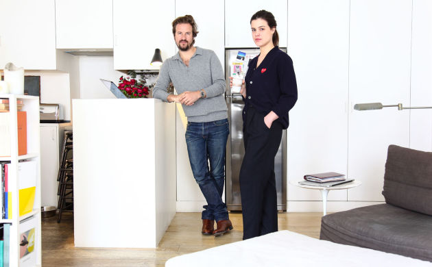 Lara Melchior and Vassili Verrecchia