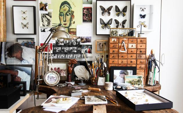 Create a Cabinet of Curiosities at your Home