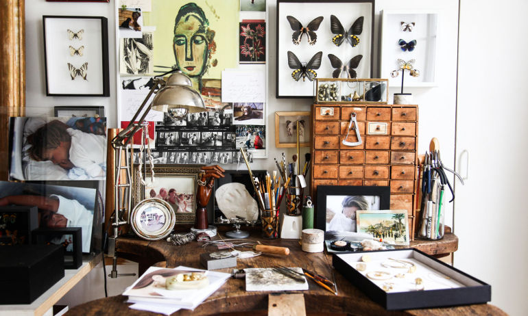 Atelier Cabinet de Curiosités Lara Melchior