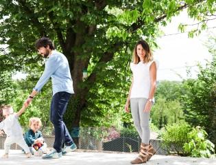 Anne-Claire Ruel  et Nicolas Anton 3 ans  Scarlett 18 mois
