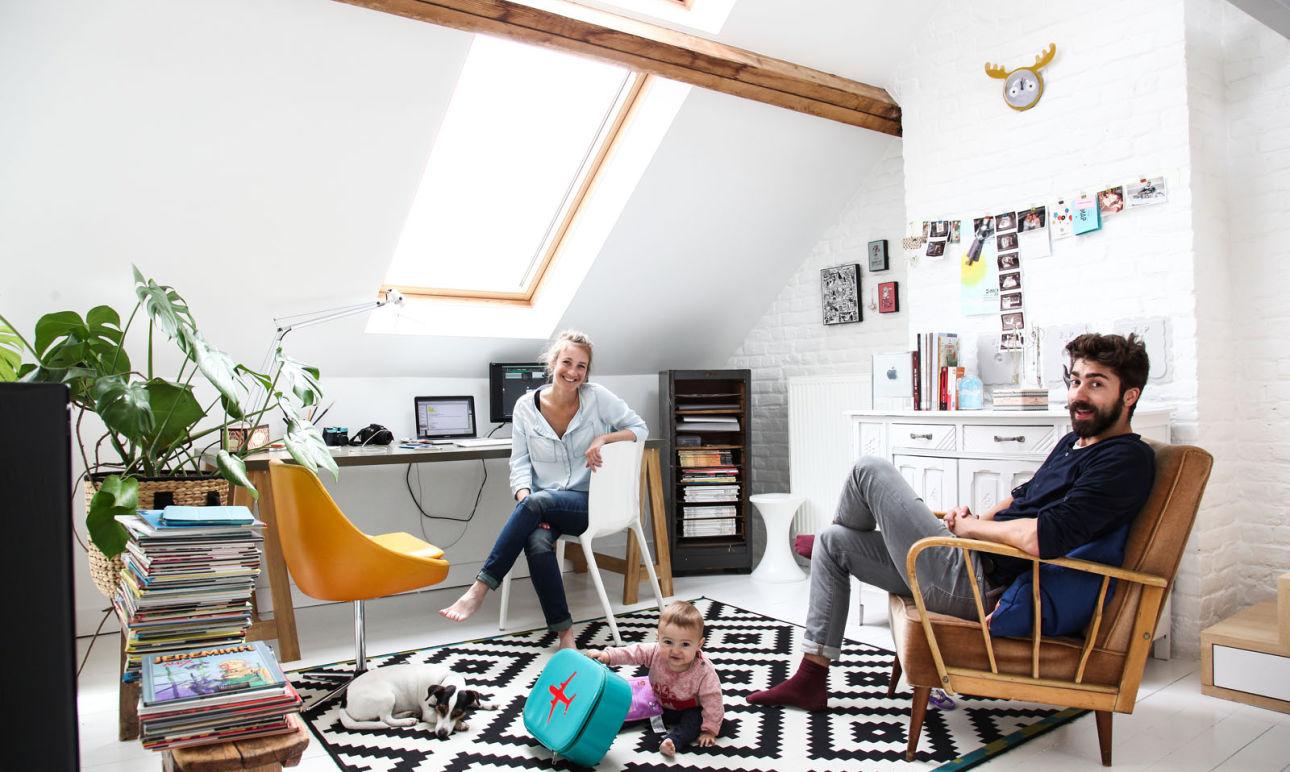 Julie Hérion et Olivier Maquenne, <br>Léon 6 mois