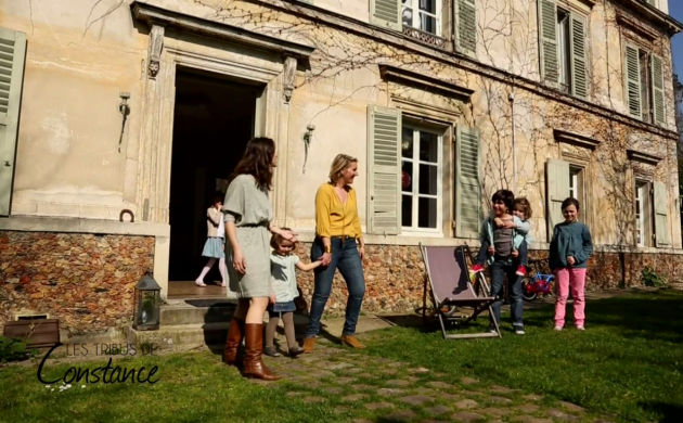 Escapade with Bénédicte in an ancient hunting lodge