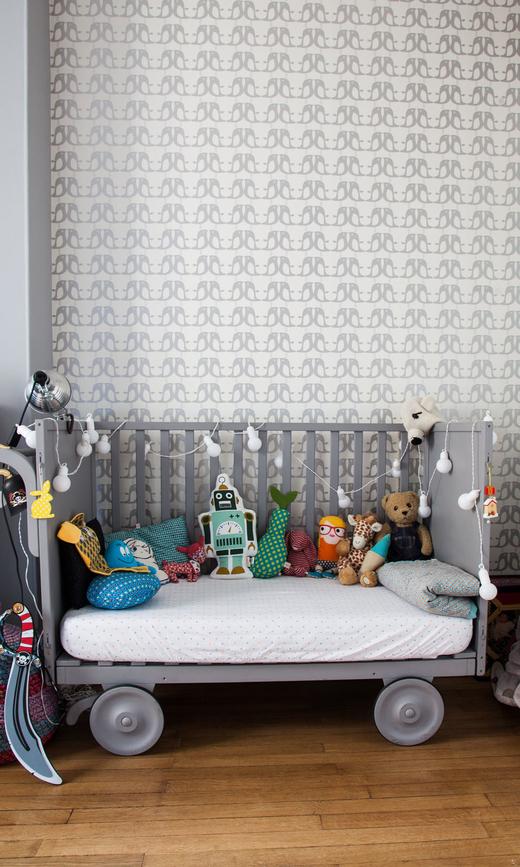 Chambre Enfant Appartement Paris Thierry Marie Sophie Arnaudin