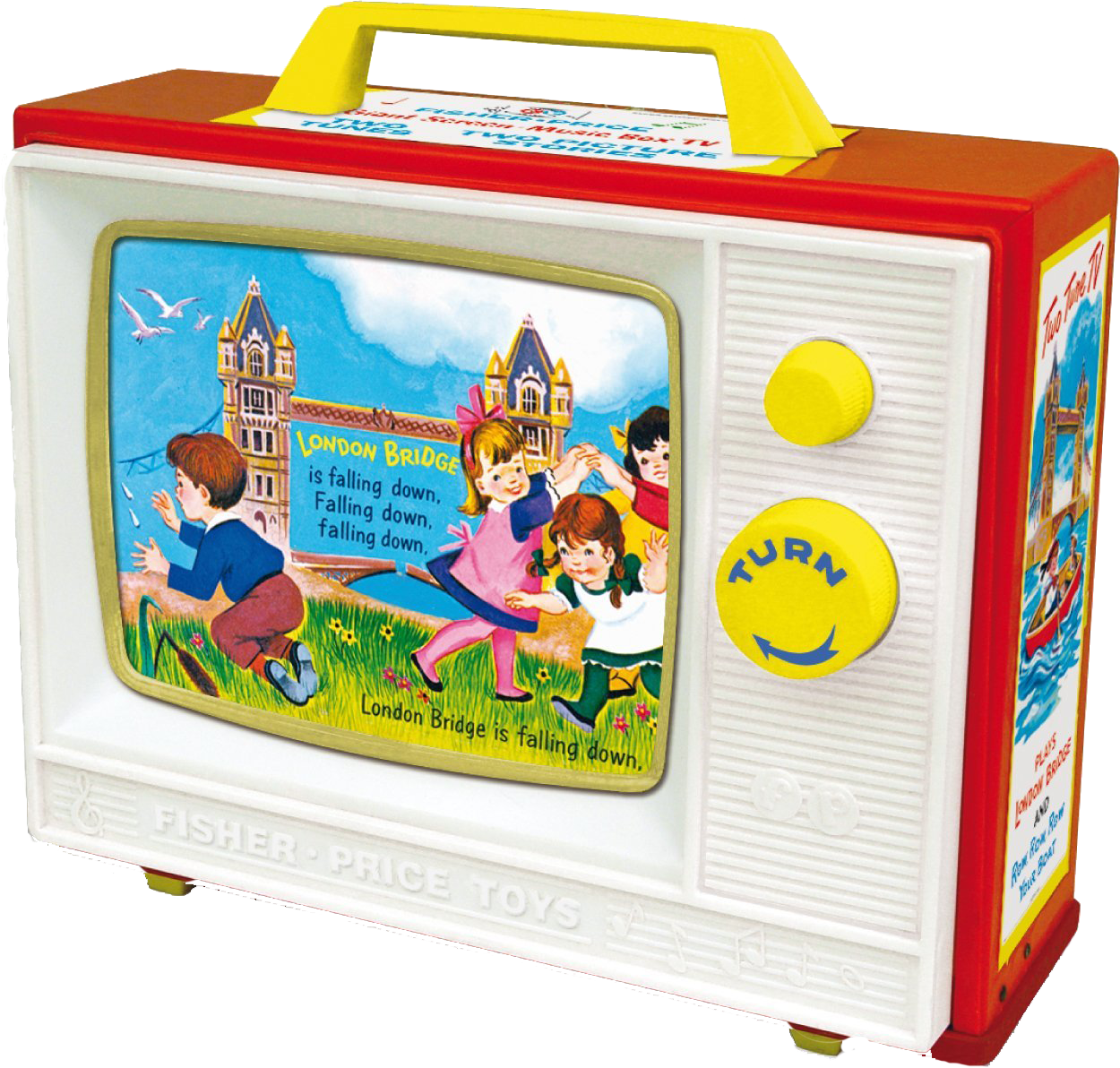 fisher price television the socialite family. Black Bedroom Furniture Sets. Home Design Ideas
