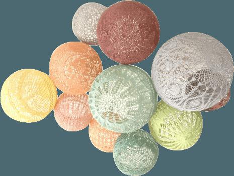 Ballons en crochet