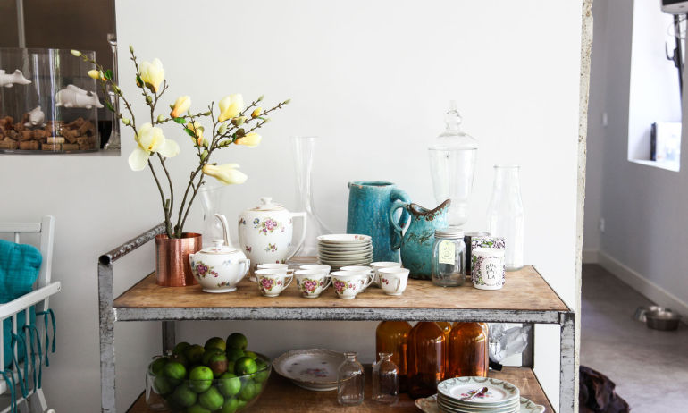 Display your Kitchen Collections with Creativity