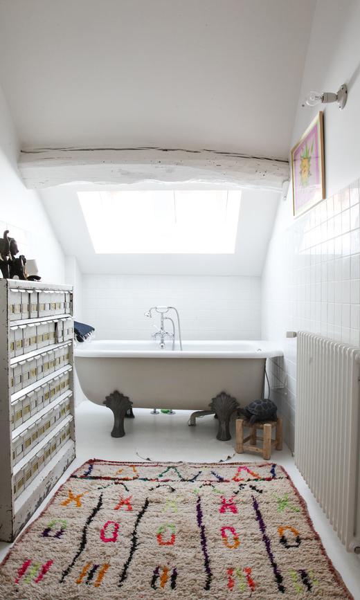 Salle de bain chez Clarisse Prudent