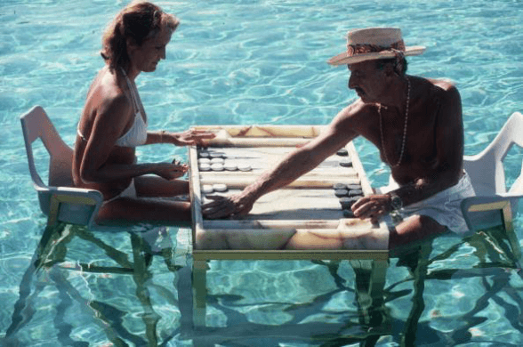 Photography Keep Your Cool by Slim Aarons