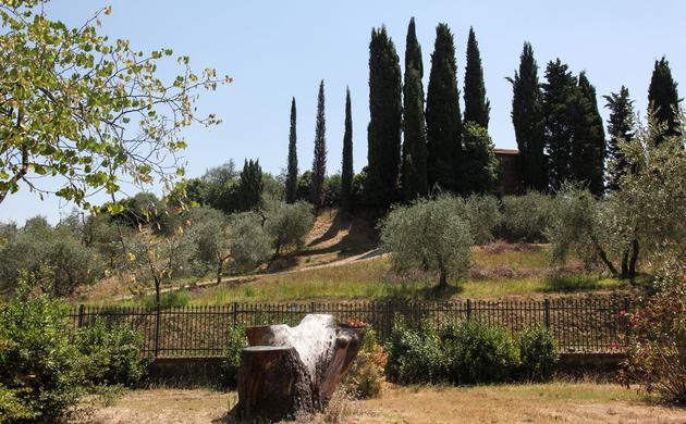 A Family Visit <br/> to Villa Lena in Tuscany