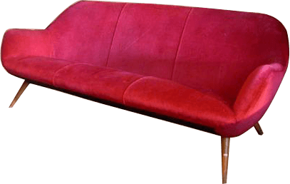 Velvet 60u0027s Sofa