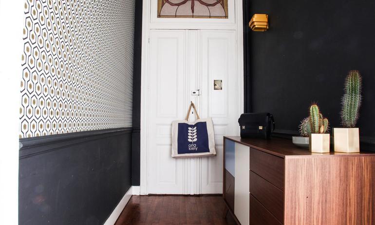 Entrée Appartement Bruxelles Aurélie Coene Thomas Van Den Driessche