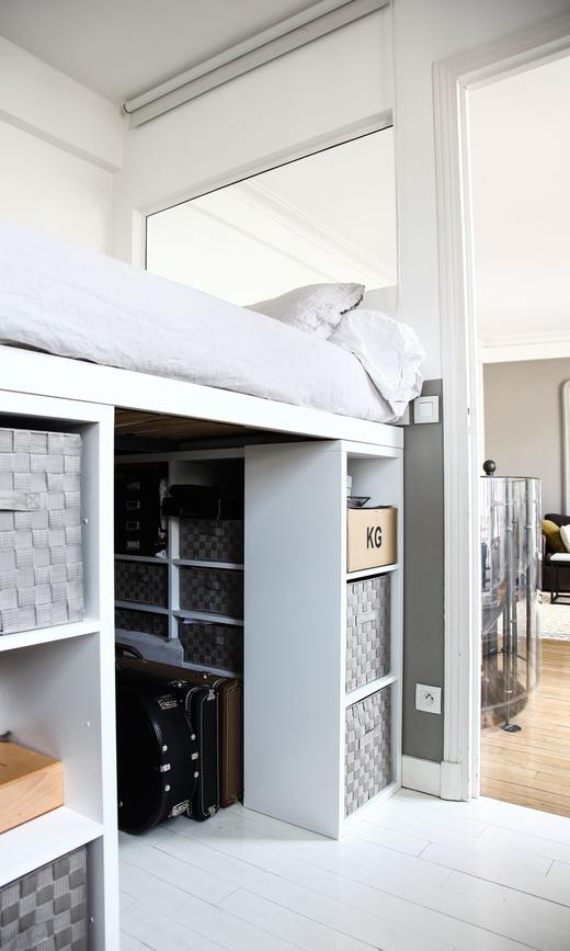 Chambre Enfant Mezzanine Blanc Déco Appartement Florence Bories Créatrice Pigmée
