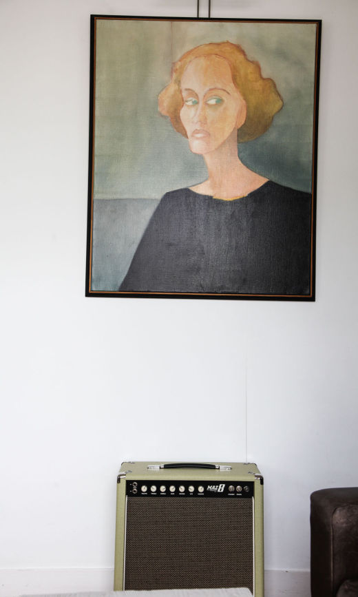Tableau Art Déco Appartement Florence Bories Créatrice Pigmée