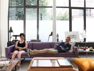 Laurent Chwast et Mila 18 ans
