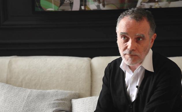 AD Intérieurs 2015: Meeting with Daniel Bismut