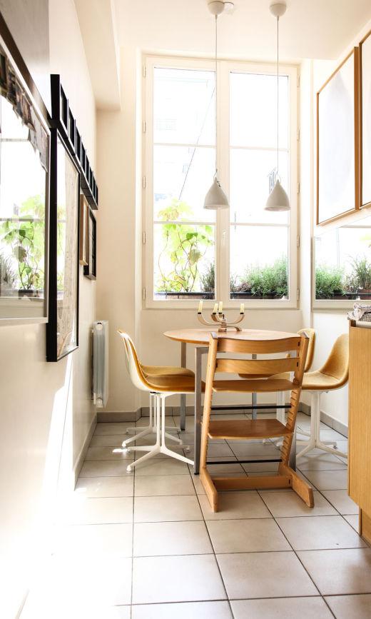 Cuisine fermée Tripp Trapp Appartement Fanny Millet et David Paris
