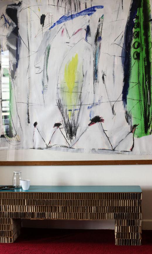 Banc Streep Art Appartement Fanny Millet et David Paris