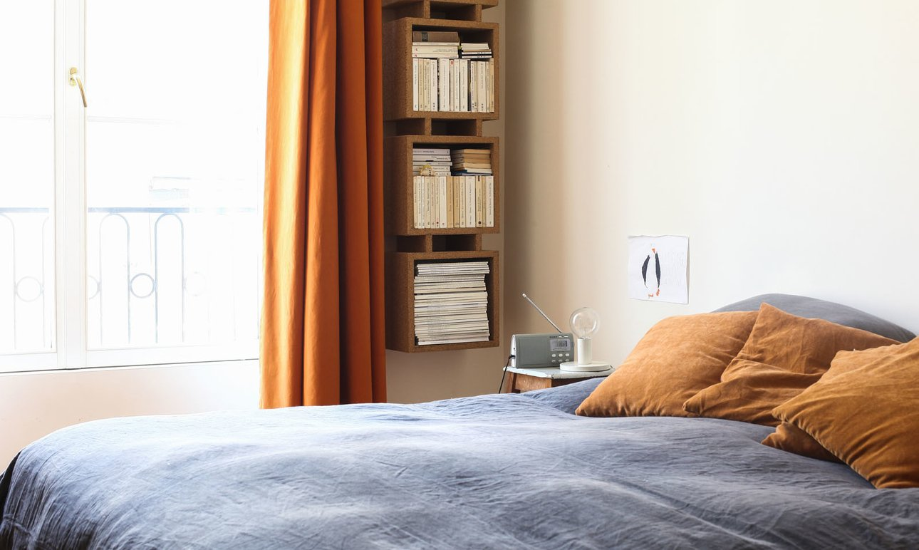 A Vintage Bedroom