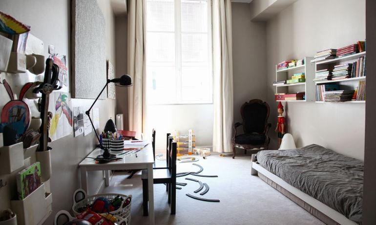 Chambre Enfant Moquette Appartement Fanny Millet et David Paris
