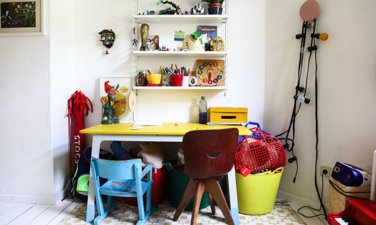 Bureau Enfant Fifties Années 50 Sina Gwosdzik
